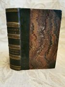 Antique Book The India Its History Climate Productions / Hochelaga -1857