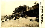 Camp Miniwanca American Youth Foundation Shelby Michigan Rppc Real Photo