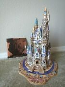 Blue Sky Heather Goldmic Disney Cinderella Castle Collectible Clayworks Limited