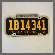 New 1940 - 1955 Los Angeles La California License Plate Frame Ford Chevy Buick