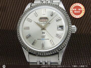 Citizen Auto Dater Vintage 25 Jewels Seven Ss Automatic Mens Watch Auth Works