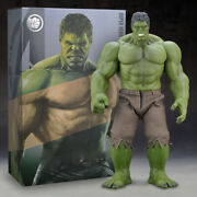 The Avengers Hulk Huge Action Figure Model Statue Pvc Collection Boxed 42/55cm