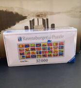 Ravensburger Double Retrospect Keith Haring Puzzle 32000 Pieces Rare And Sealed