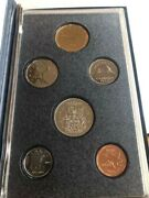 Royal Canadian Mint - Specimen And Uncirculated Coins Sets 3 Total - No Silver