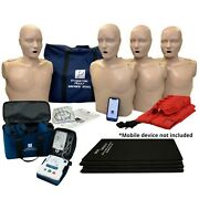 Series 2000 Adult Cpr Manikin 4-pack W. Advanced Feedback Aed Ultratrainers