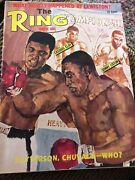 The Ring Magazine Cassius Clay Sonny Liston 1965 Nmt