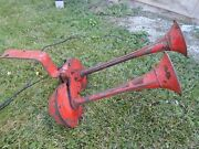 Vintage Dual Bugle Auto Truck Dodge Chrysler Plymouth Ford Horn Rat Rod