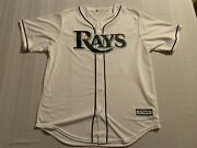 Kevin Kiermaier 39 Tampa Bay Rays Majestic Stitched Small Jersey White New