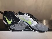 Nike Flyknit Racer Olympic Promo Sample Size 11.5 Htm Milan Trainer Rare 🔥volt