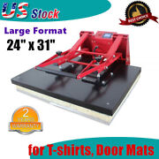 24 X 31 110v Clamshell Large Format T-shirts Sublimation Heat Press Machine