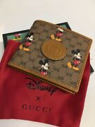 Very Rare Andtimes Disney Collaboration Bifold Mini Wallet Limited Unused Cute
