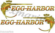 Two Egg Harbor 15x5.5 Die-cut Stickers