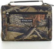 Mossy Oak Camo Poly-canvas Bible / Book Cover W/stand Firm Tag - 1 Corinthians