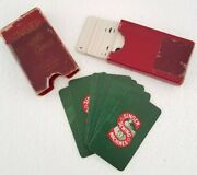 Antique Singer Sewing Machine Brand Domino Cards Wwi