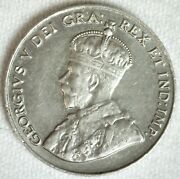 1926 Canada Five Cent Coin 5c Canadian Nickel Near 6 Variety Uncirculated