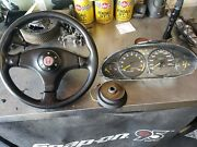 Jdm Type R Integra 94-01 Gauge Cluster And Steering Wheel With Quick Release