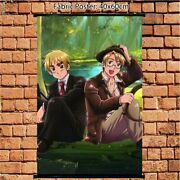 Anime Poster Hetalia Axis Powers United Wall Scroll Home Decoration 60x40cm