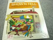 Vintage Ge Show And039n Tell Sealed Picturesound Wizard Of Oz Program Set St-101