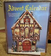 Christmas Advent Calendar 663167 Costco Carolers Victorian House With Box