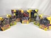 Lot Of 7 Alter Nation Complete Phase 1 Action Figures El Ray, Sham, Albert Vii,