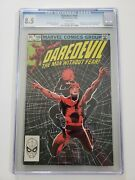 Daredevil 188 Cgc 8.5 1st Appearance Of Stone, Claw And Shaft Frank Miller
