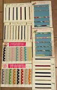 Vintage 1970's 7 Sample Display Boards- Franken Trimming Company Ny- Sewing
