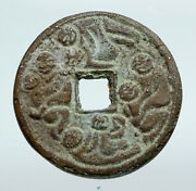 6-900ad Chinese Song Dynasty Man And Woman Embrace Cash Token Coin Of China I90720