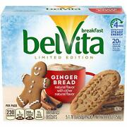 Belvita Limited Edition Gingerbread Breakfast Biscuits 2 Pack