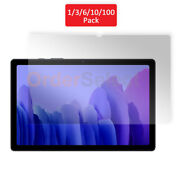 1 3 6 10 100 Lot Lcd Clear Screen Protector For Samsung Galaxy Tab A7 10.4
