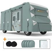 King Bird Heavy Duty 5-ply 348x105x108 Class C Rv Cover Fit Camper 26and039-29and039 Us