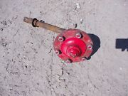 Ford Naa Tractor Original Front Wheel Spindle Shaft W/ Hub And Stud Bolts + Cap