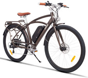 Sarahbridal Adult 28 City Electric Bicycle 500w Electric Bike Electric Mountain