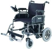 Merits P101 Folding Power Chair Electric Wheelchair 16 Wide Seat