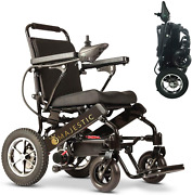 Electric Wheelchair Limited Edition Remote Control Foldable Mobility Aid Lightwe