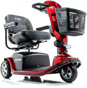 Victory 9 Pride 3-wheel Electric Scooter Sc609 Red + Accessories