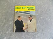 1965 Green Bay Packers Yearbook With Curley Lambeau And Vince Lombardi On Cover