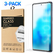 3-pack Tempered Glass Screen Protector For Samsung Galaxy S20 Fe 5g
