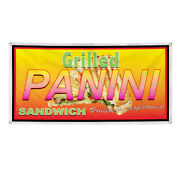 Vinyl Banner Multiple Sizes Grilled Panini Restaurant Cafe Bar A Delis Outdoor