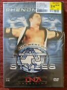 Phenomenal The Best Of A.j. Styles Used Dvd Wwe Wrestling Tna Brand New Sealed