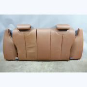 2014-2017 Bmw F22 2-series Coupe Factory Rear Folding Seat Back Terra Brown Oem
