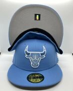 New Era Chicago Bulls Unc Hookup 59fifty Fitted Hat Size 7 1/2