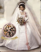 Roses Everlasting By Cindy Mcclure Bride Capodimonte Porcelain Doll Original