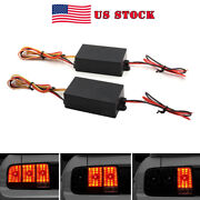 Chase Flash Module Boxes 3 Step Sequential Universal For Car Turn Signal Light S