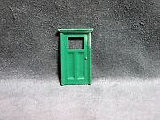 Plasticville Cape Cod House Green Front Door O-s Scale