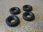 Dinky 968 / 969 Bbc X4 Tyres  New Replacements 18mm