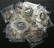 1965 Canada 5 Cents Prooflike Lot Of 35 Sealed 13441