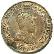 Edward Vii Canada Large Cent Double Headed Coin Magician 11854