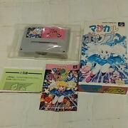 Super Famicom Game Magical Popand039n Snes Sf With Manual Box Video Game Rare