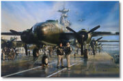 The Hornet's Nest By John Shaw - North American B-25 Mitchell - Giclee Canvas