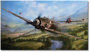 The Warrior And The Wolfpack By John Shaw - Messerschmitt Bf 109 - P-47